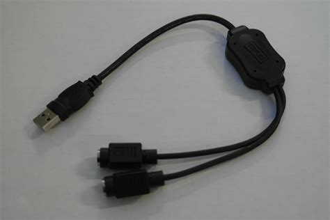 Keybord Power Ps2 usb to ps2 keyboard mouse power adapter
