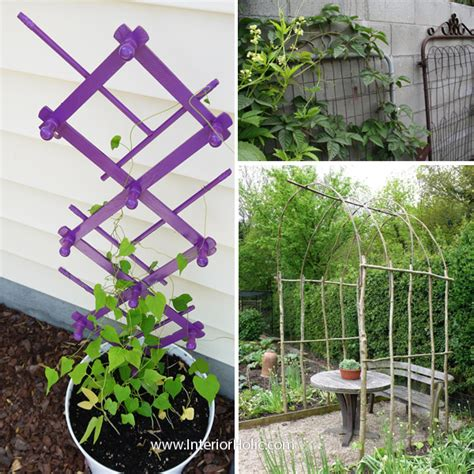 Diy Garden Trellis Ideas Outdoor Decor Diy Trellis Ideas Interiorholic