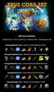 best gow cores and pieces zeus core set gem skill guide dominategow game of