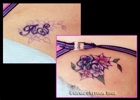 small name tattoo cover up ideas the best cover ups of the worst tattoos