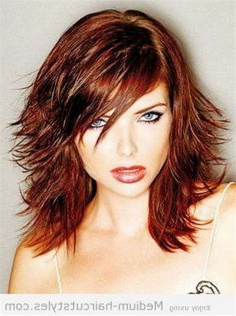 nothing shaggy about it shoulder length haircuts beautify