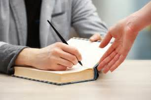 guidelines for writing a resume is a book signing worth it