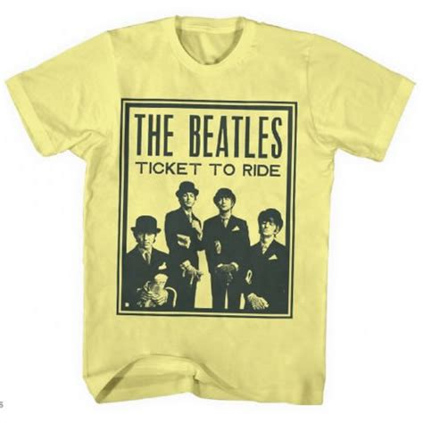 T Shirt The Beatles Are Back beatles t shirt beatles fab four store exclusively