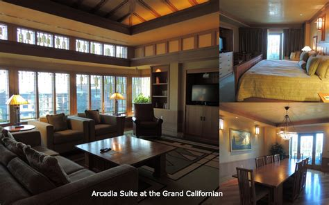 Disney Grand Californian Hotel Floor Plan - grand californian arcadia suite studio design