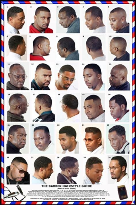 Barber Poster African American Black Male #06BLKM   Ensley