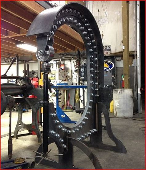 metal fabricating equipment storage and another exle of what you can do with our metalace wheel u weld kit thanks to