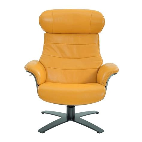 yellow swivel chair enzo yellow leather swivel chair el dorado furniture