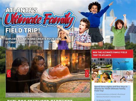 Atlanta Sweepstakes - atlanta ultimate field trip sweepstakes