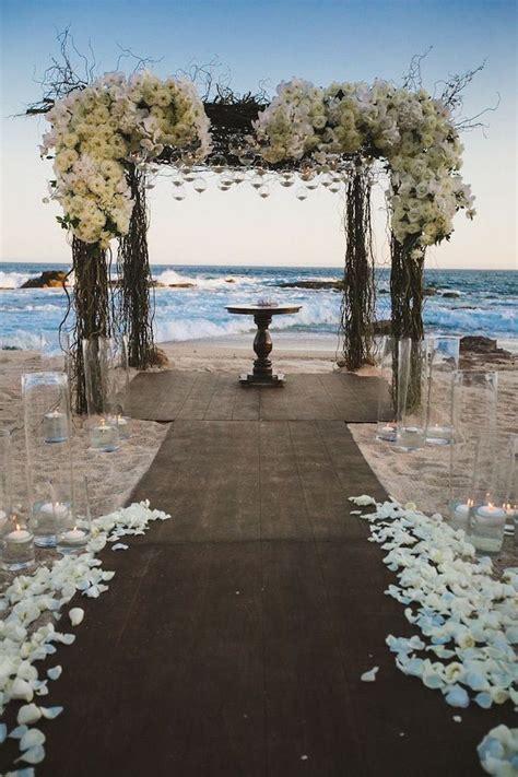 Elena Damy   Stunning Beach Wedding Ceremony Ideas by