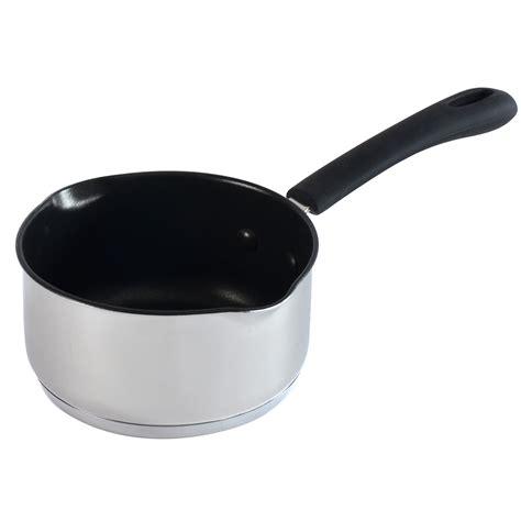 Saucepan 14cm procook stainless steel pour milk saucepan induction pans