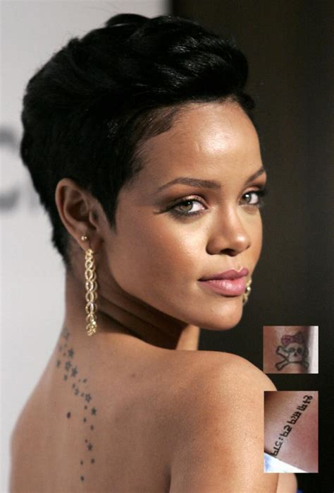 latest low cut hair styles rihanna topples lady gaga in facebook queen title