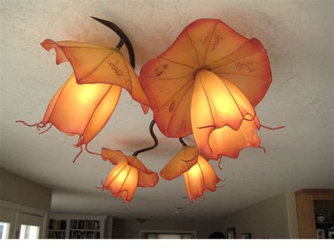 Handmade Paper Lights - commercial and residential custom handmade paper lights