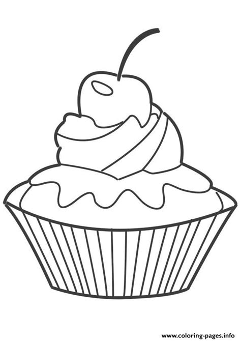 cupcake coloring pages pdf cupcake coloring pages coloring home