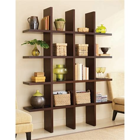 bookcase decor living room wall shelves decorating ideas house decor with