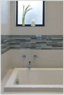 Glass Tile Accent Wall Bathroom Glass Tile Accent Wall Bathroom Tiles Home Decorating