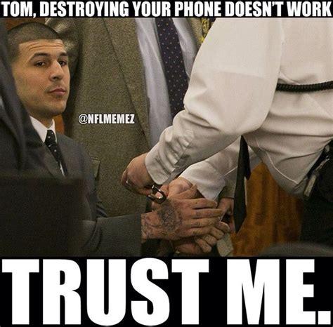Aaron Hernandez Memes - aaron hernandez tom brady meme sports pinterest