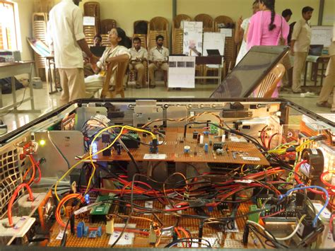 projects exhibition  electrical  electronics