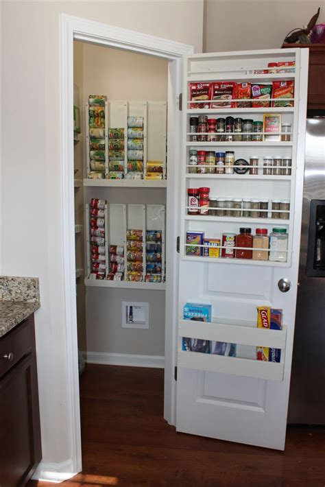 Narrow The Door Pantry Organizer by Top 25 Best Pantry Door Storage Ideas On