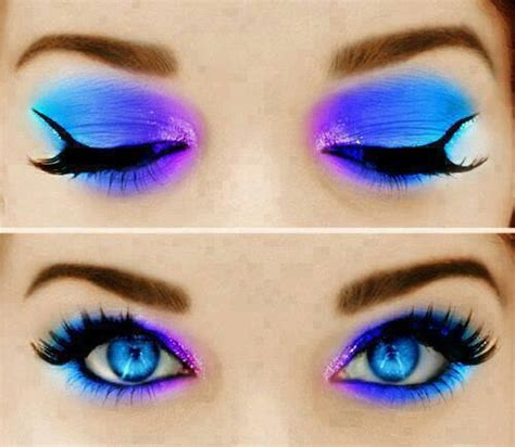 what colors make up blue blue and purple makeup pictures photos and images for