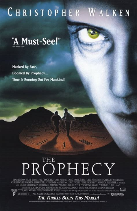 The Prophecy A Thriller the prophecy 1995 walkenchronicles