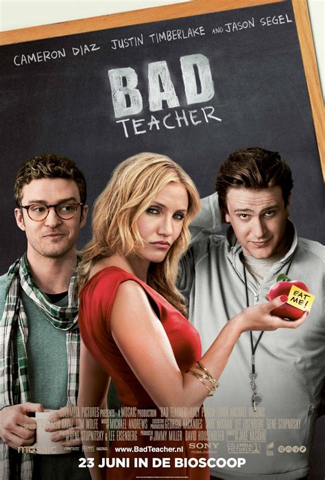 Bad Teacher 2011 Film Bad Teacher Film Daze