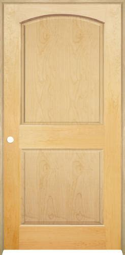 Prehung Maple Interior Doors by Mastercraft Maple Arched Raised 2 Pnl Prehung Int Door