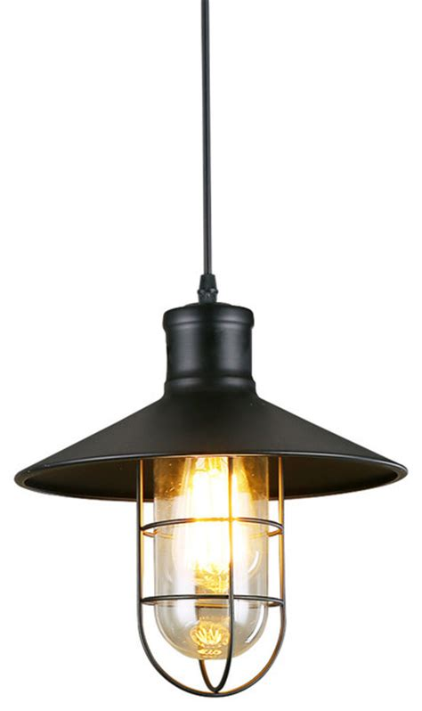 industrial metal pendant lights retro style industrial black mini metal wire cage ceiling