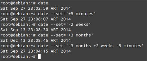 Format Date Command Linux | how to change date and time from the command line on linux