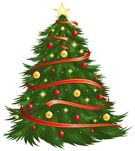 christmas tree clipart transparent background clipartxtras