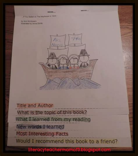 flip book book report 260 best images about reading strategies process on