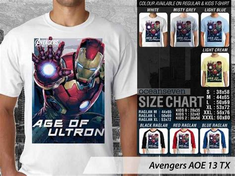 Kaos The Guardian Buckingham T Shirt The Guardian Buckingham age of ultron new t shirts kaos marvels