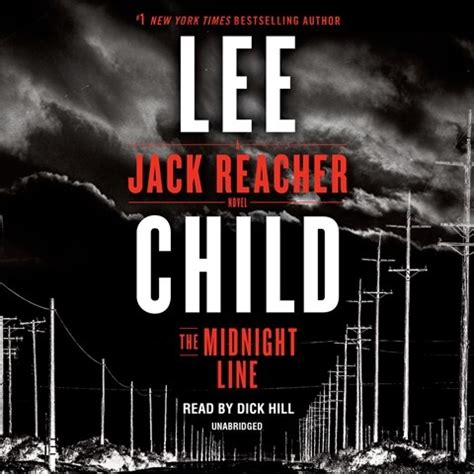 the midnight line jack 0593078187 the midnight line by lee child read by hill audiobook review audiofile magazine