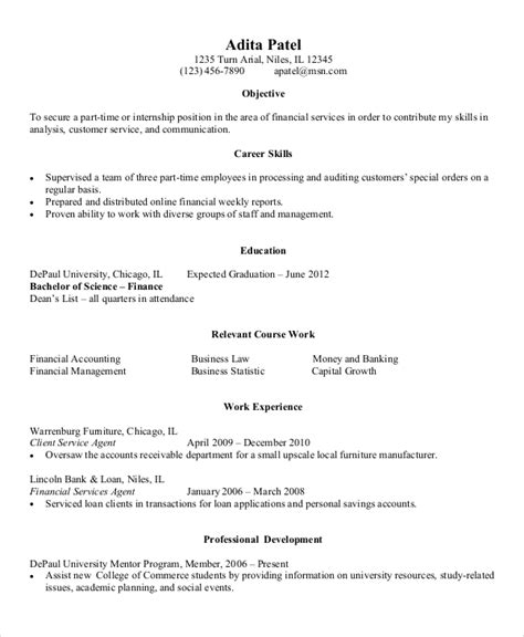 Entry Level Resumes by 9 Entry Level Resume Exles Pdf Doc Free Premium