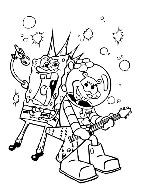 Spongebob Thanksgiving Coloring Pages spongebob thanksgiving coloring pages chuckbutt