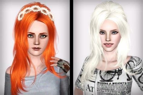 sims 3 hair cc newsea j173 sunshine hair retextured by forever and