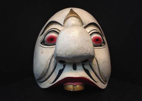 Topeng Comic 8 Topeng Badut wayang topeng mask penasar from bali by ethnicartandjewelry 69 95 mask masks