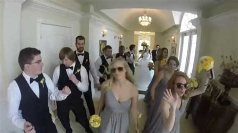 Wedding To Uptown Funk by Uptown Funk Wedding Style