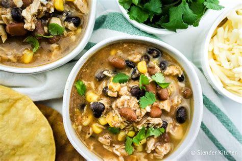 zero point weight watchers taco soup slender kitchen