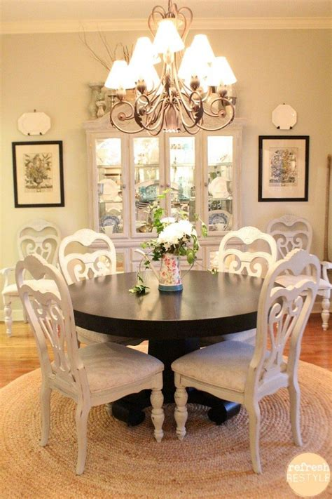 painted dining room chairs spray paint dining room chairs bigdiyideas com
