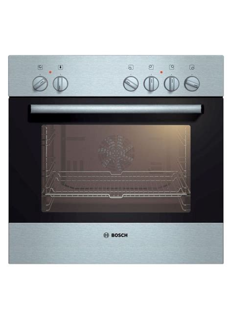 counter oven bosch 600mm black stainless steel counter oven