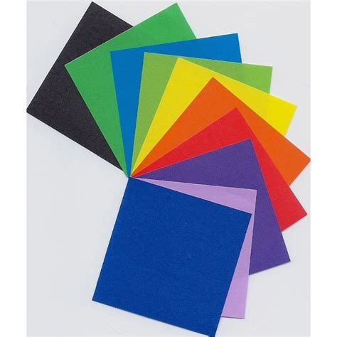 Origami Colored Paper - 050 mm 250 sh origami paper plain color bulk