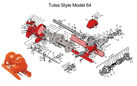 tulsa winch parts diagram oilfieldsupply