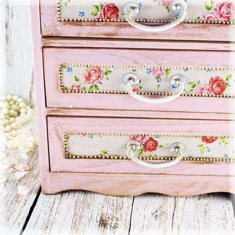 shabby chic provincial country pink shabby chic vintage look by alenahandmade