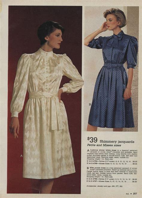 Modee Kleider by All Sizes 1984 Xx Xx Montgomery Ward Catalog