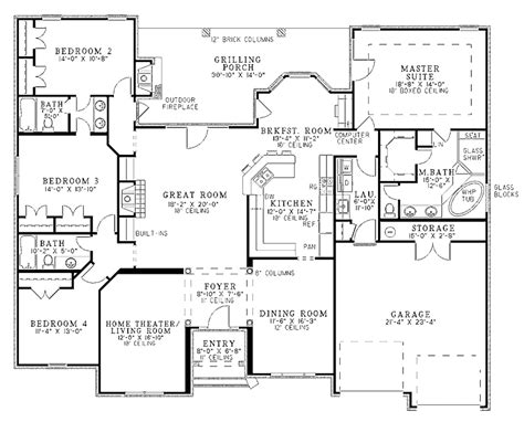 split floor plan homes split entry home floor plans home plans luxamcc