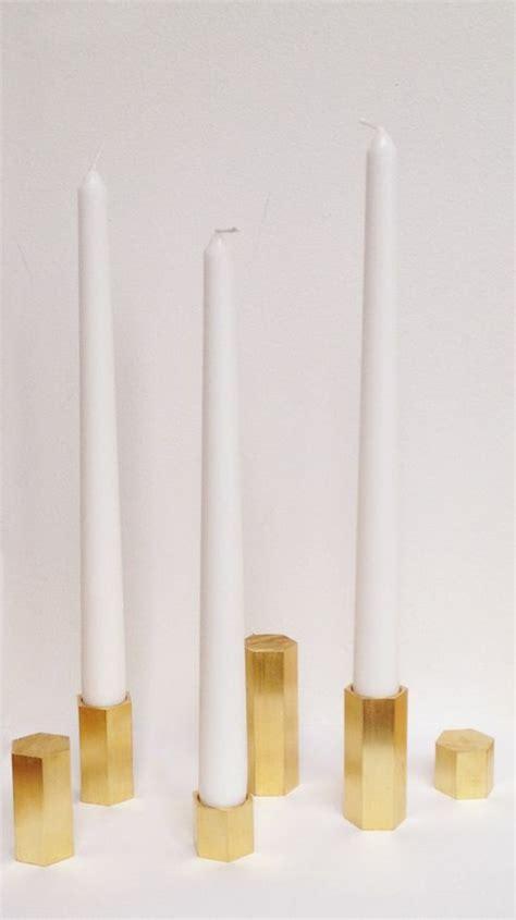goldene kerzenhalter kerzenhalter basteln leichter als sie denken archzine net
