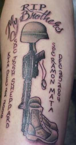 tattoo extreme carbine military shoes rifle tattoo
