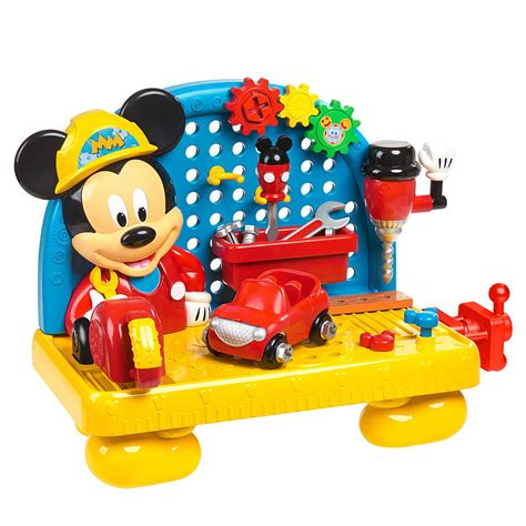 mickey mouse clubhouse work bench disney mickey s mousekadoer workbench