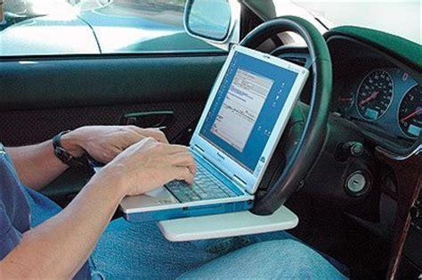Sonic Automotive Help Desk by Laptop Steering Wheel Table Craziest Gadgets