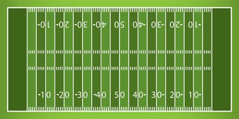 Football Field Template lined field tablecloth artificial turf defiantly domestic